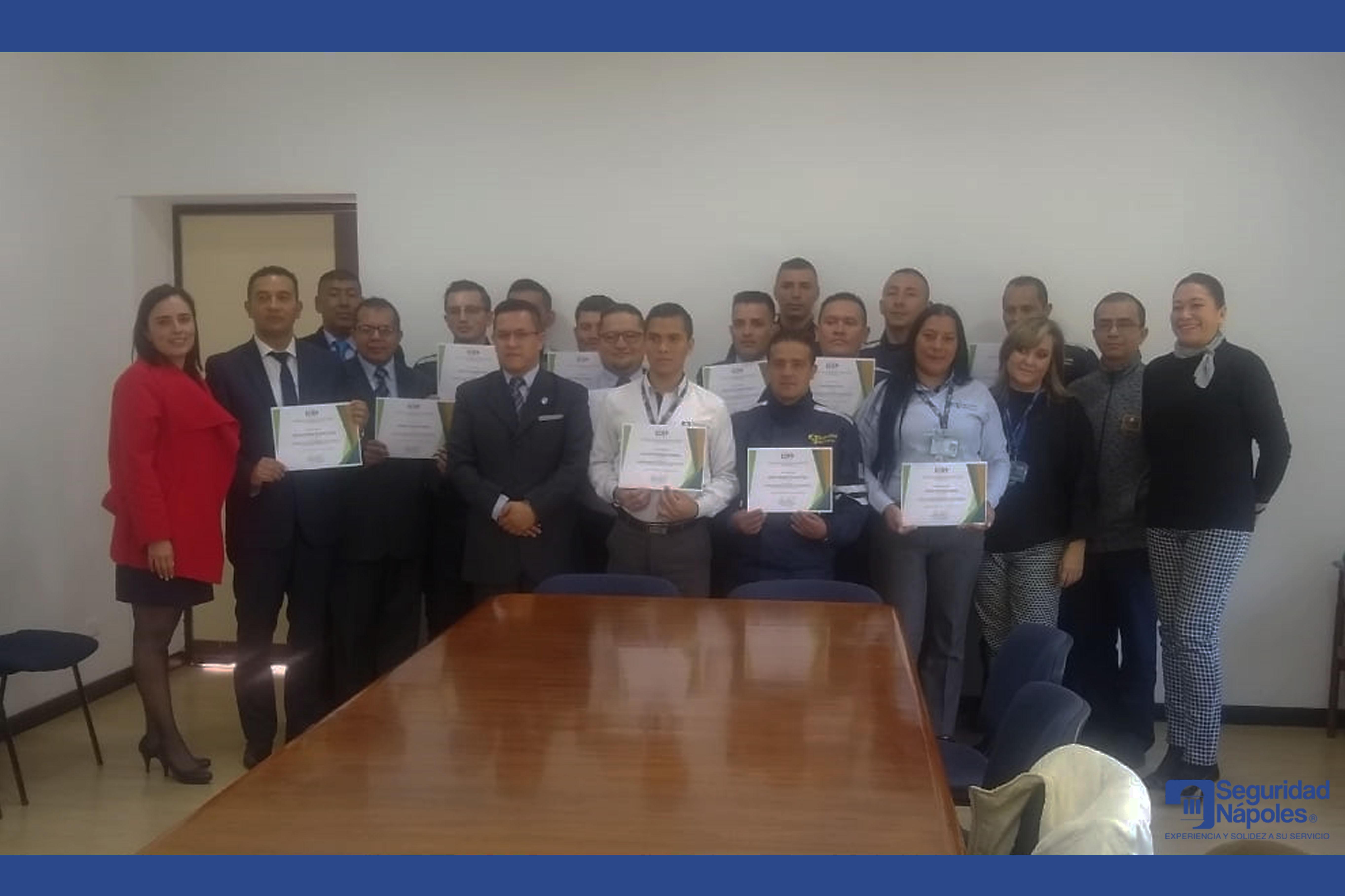 """Seguridad Nápoles se capacitó en """"Desarrollo de competencias de liderazgo y comunicación asertiva"""""""